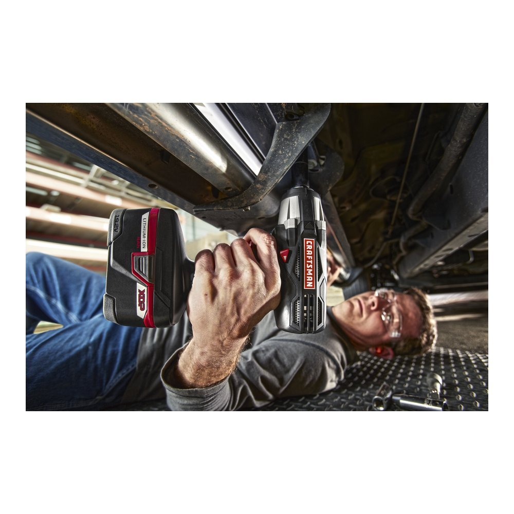 Craftsman-C3-Heavy-Duty-Impact-Wrench The Craftsman Cordless Drill