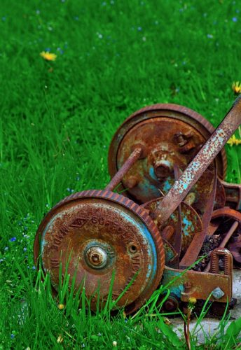 old-rusty-lawnmower-344x500 Is a Man Only as Good as His Tools?