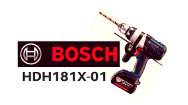 Bosch HDH181X-01 Review