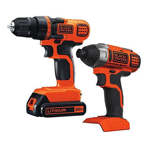 51zLMWf6VGL Black & Decker BD2KITCDDI 20V MAX Drill/Driver Impact Combo Kit Review