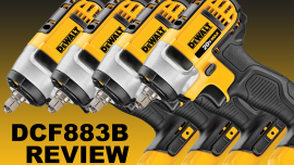 DEWALT DCF883B 3/8 Cordless Impact Wrench Review