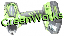 Greenworks Cordless Impact Wrench (24V Kit)